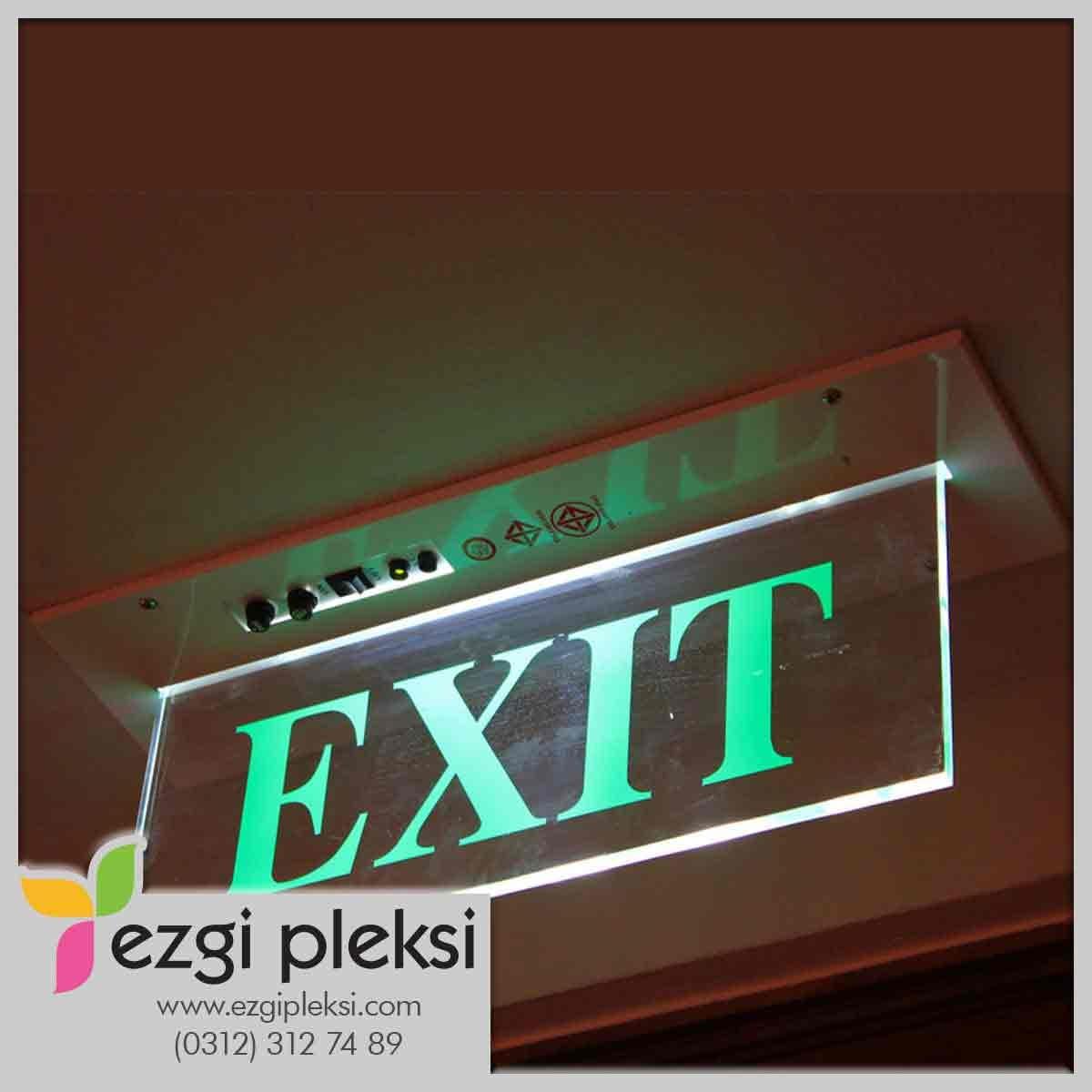 Işıklı Exit Tabela